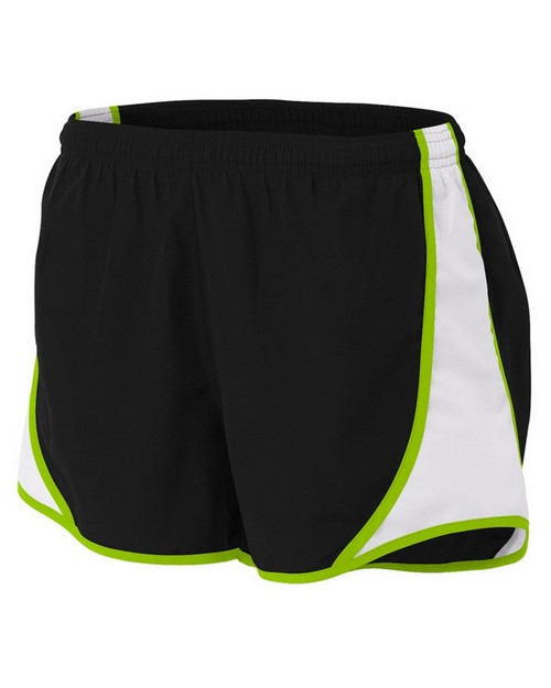 A4 NW5341 Ladies 3-Inch Speed Shorts