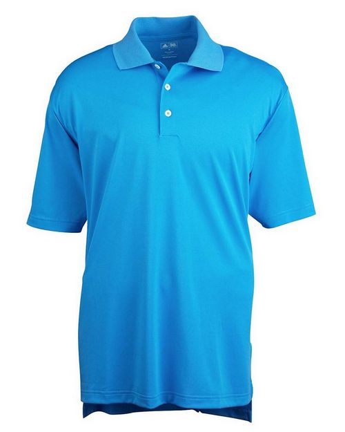 Adidas Golf Logo Embroidered ClimaLite Pique Polo Shirt - For Men