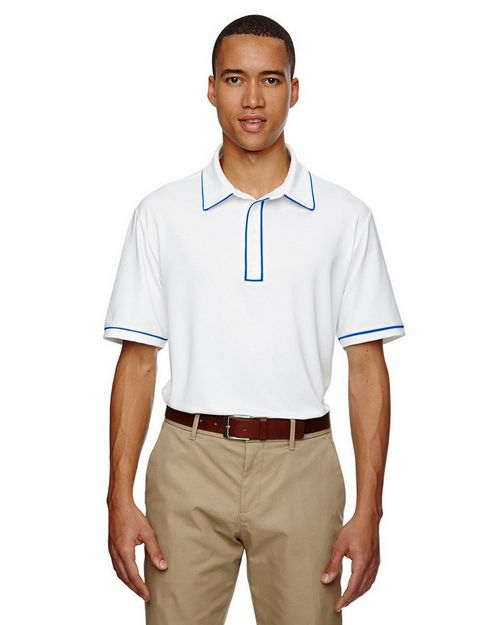 Adidas Golf A125 Mens Puremotion Piped Polo