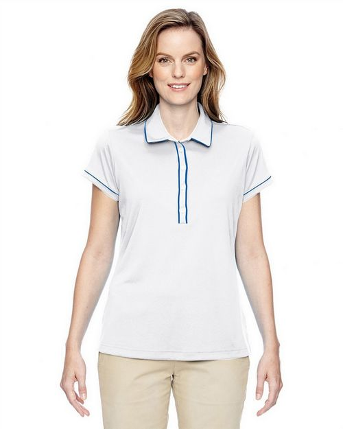 Adidas Golf A126 Ladies Piped Fashion Polo