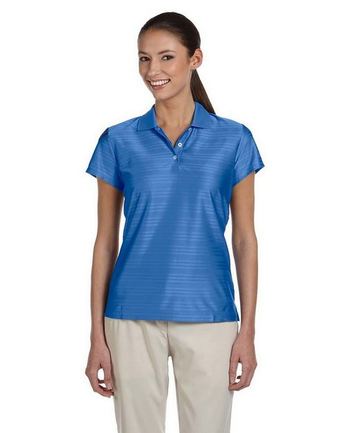 Adidas Golf Logo Embroidered ClimaCool Mesh Polo Shirt - For Women