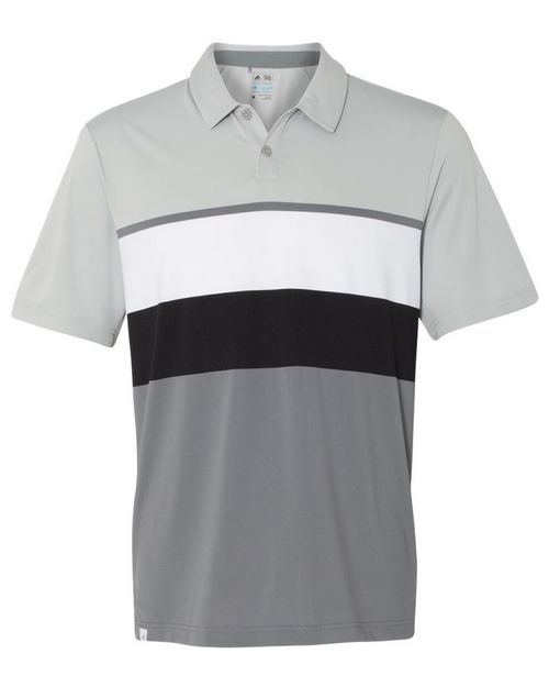 Adidas Golf A136 Mens Climacool Engineered Stripe Sport Shirt