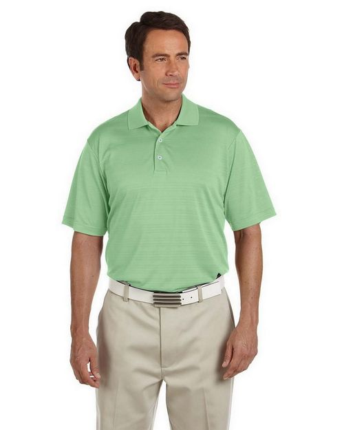 Adidas Golf A161 Men's ClimaLite Textured Short-Sleeve Polo
