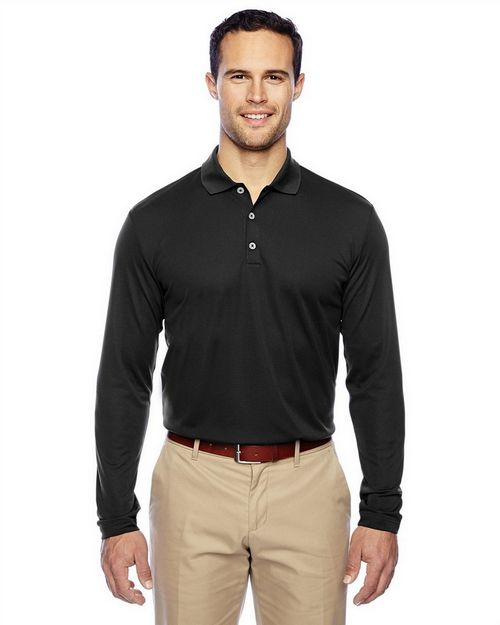Adidas Golf A186 ClimaLite Long-Sleeve Polo Shirt