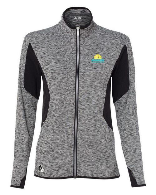 Adidas Golf A199 Golf Womens Space Dyed Full-Zip Jacket
