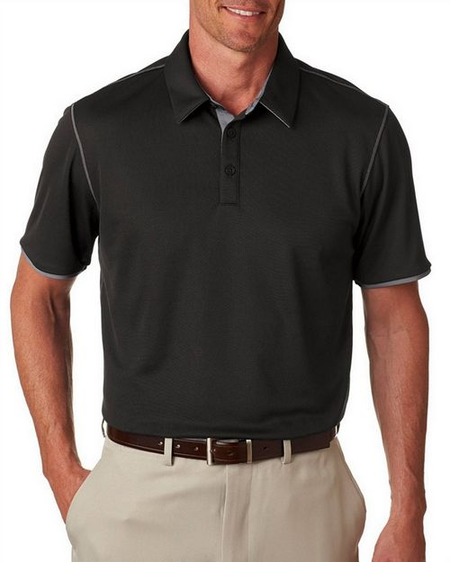 Adidas Golf A221 Adidas Men's ClimaCool Mesh Color Hit Polo