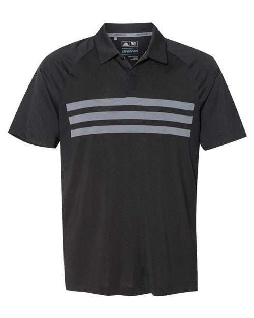 Adidas Golf A224 Mens Climacool 3-Stripes Sport Shirt