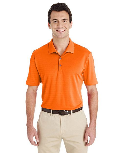 Adidas Golf A261 Mens Micro Stripe Polo Shirt