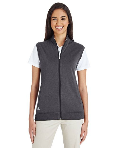 Adidas Golf Logo Embroidered Club Vest - For Women
