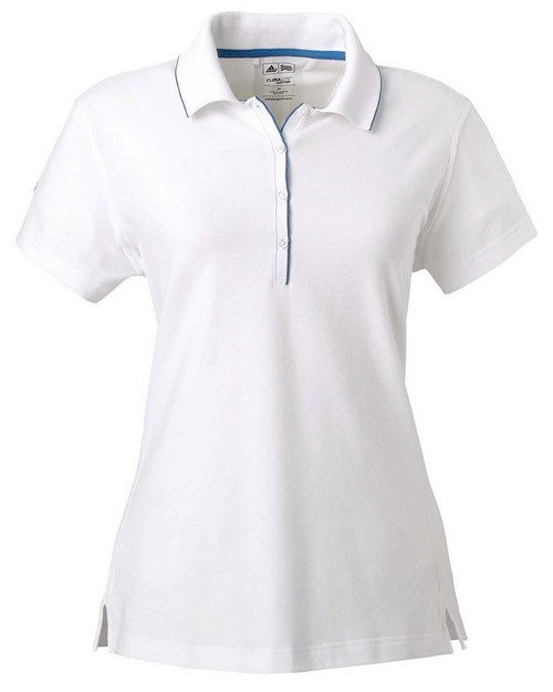 Adidas Golf A89 Ladies' ClimaLite Tour Jersey Short-Sleeve Polo