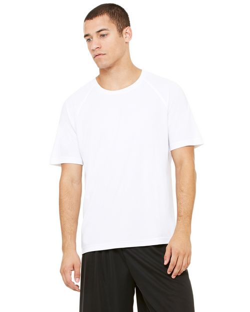 All Sport M1029 Mens Performance Raglan T Shirt