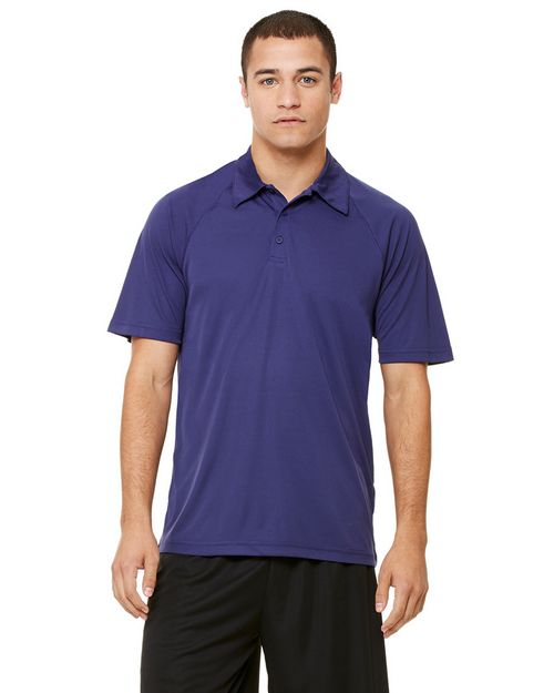 All Sport M1829 Mens Performance Raglan Polo