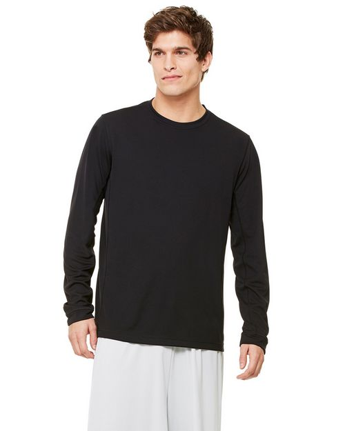 All Sport M3002 Long-Sleeve Contrast Tee