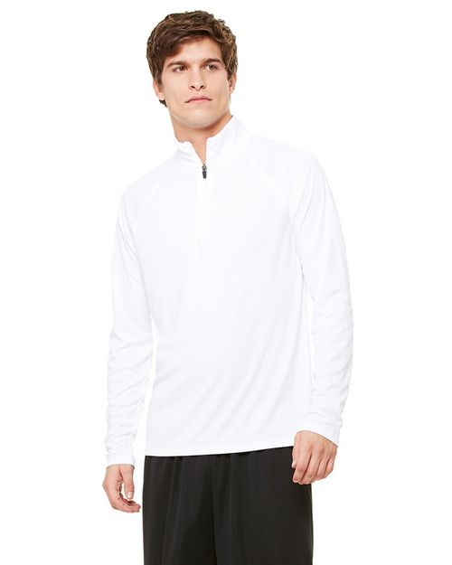 All Sport M3006 Mens 1/4 Zip Lightweight Pullover