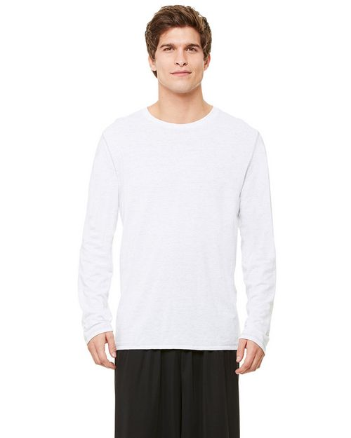 All Sport M3102 Mens Performance Triblend Long-Sleeve T-Shirt