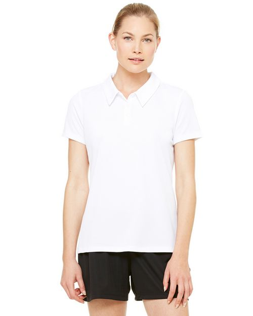 All Sport W1709 Ladies Performance Mesh Polo