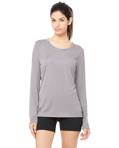 All Sport W3009 Ladies Performance Long Sleeve T-Shirt