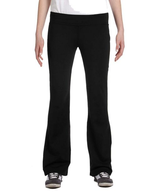 All Sport W5004T Ladies Solid Pant Tall