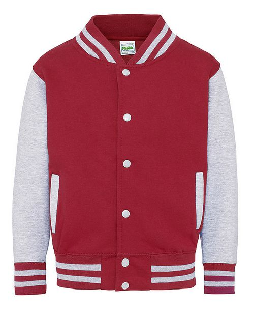 All We Do JHY043 Just Hoods Youth Letterman Jacket
