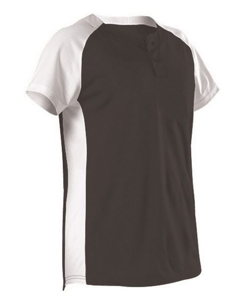 Alleson Athletic 522PDW Women's Two Button Fastpitch Jersey