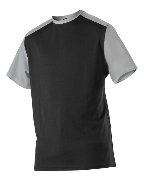 Alleson Athletic 532CJY Youth Crew Neck Baseball Jersey