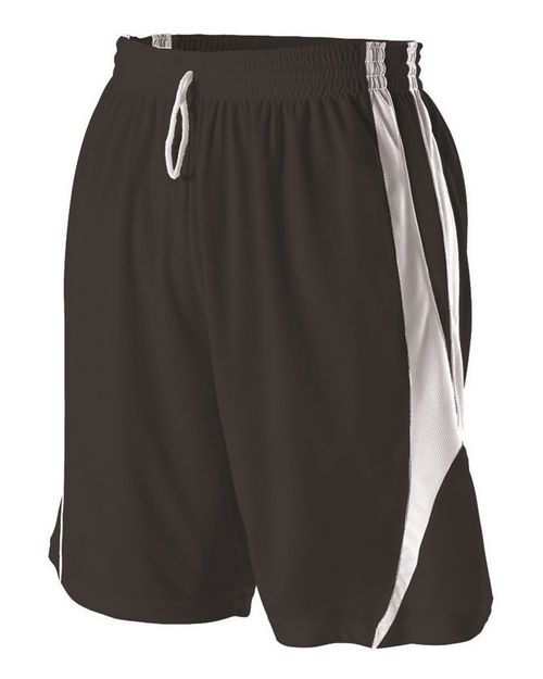 Alleson Athletic 54MMPY Youth Reversible Basketball Shorts