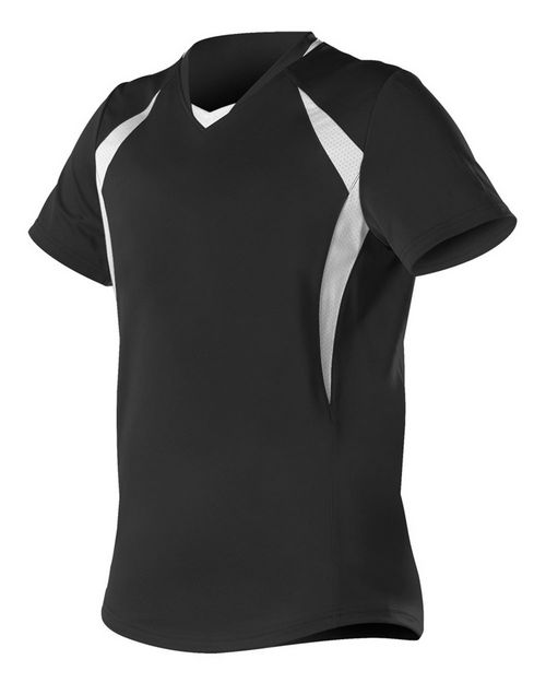 Alleson Athletic 552JG Girls' Short Sleeve Fastpitch Jersey