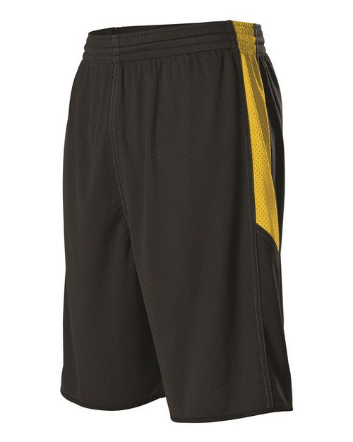 Alleson Athletic 589PSPY Youth Single Ply Reversible Shorts