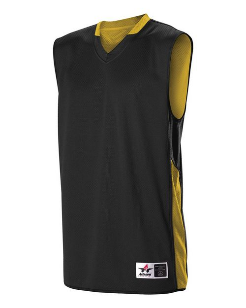 Alleson Athletic 589RSPY Youth Single Ply Reversible Jersey