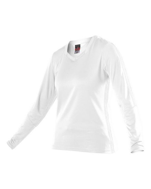 Alleson Athletic 831VLJW Women's Dig Long Sleeve Volleyball Jersey