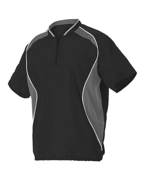 Alleson Athletic A00003 Short Sleeve Baseball Batters Jacket