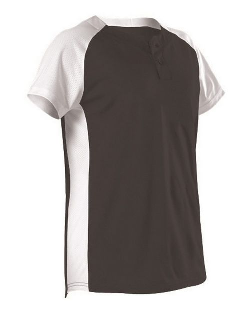 Alleson Athletic A00058 Women's Two Button Fastpitch Jersey