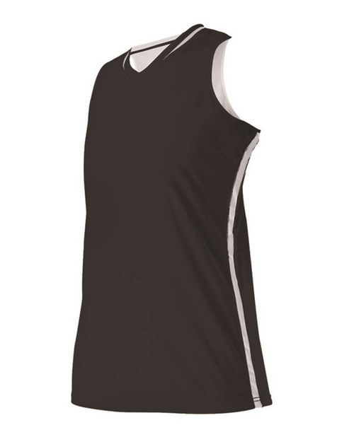 Alleson Athletic A00122 Girl's Reversible Basketball Jersey