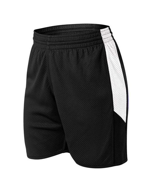 Alleson Athletic A00152 Women's Single Ply Reversible Shorts