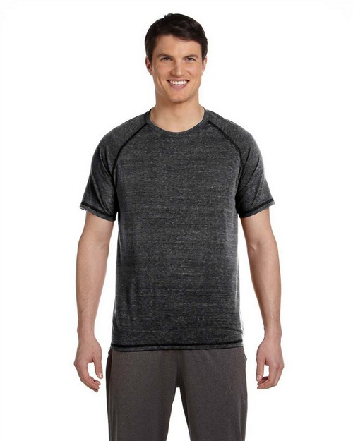All Sport M1101 Mens Performance Triblend Short-Sleeve T-Shirt