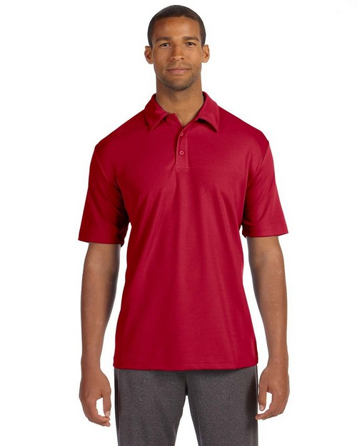 All Sport M1709 Mens Performance Mesh Polo