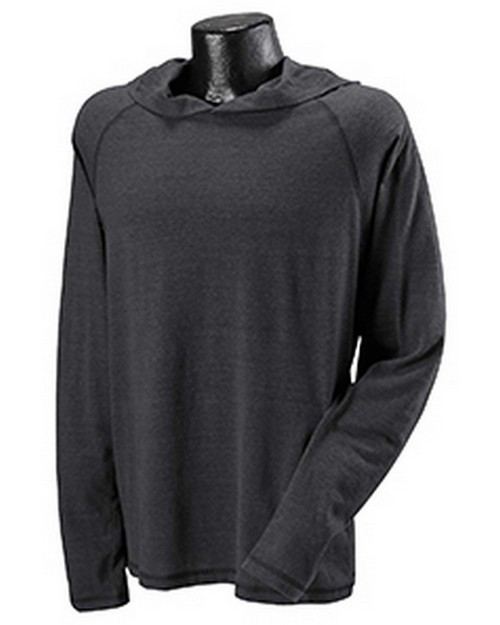 All Sport M3101 Mens Performance Triblend Jersey Long-Sleeve Hooded Pullover