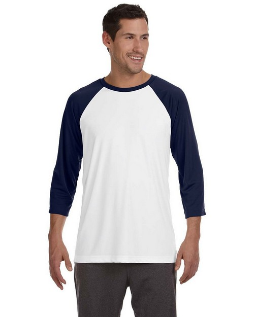 All Sport M3229 Mens Baseball T Shirt