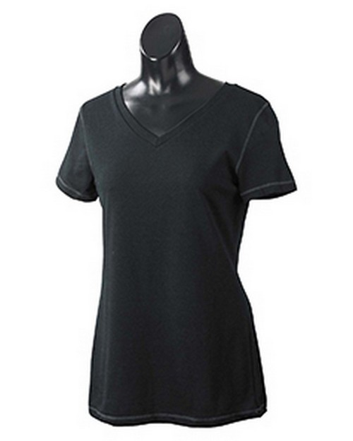 All Sport W1105 Ladies Performance Triblend Short-Sleeve V-Neck T-Shirt