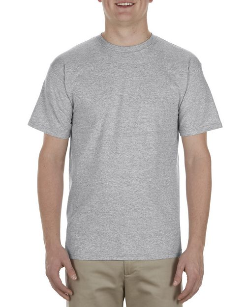Alstyle AL1701 Adult 5.5 oz.; 100% Soft Spun Cotton T-Shirt