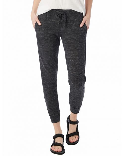 Alternative 02822E1 Ladies Eco Jersey Jogger Pant
