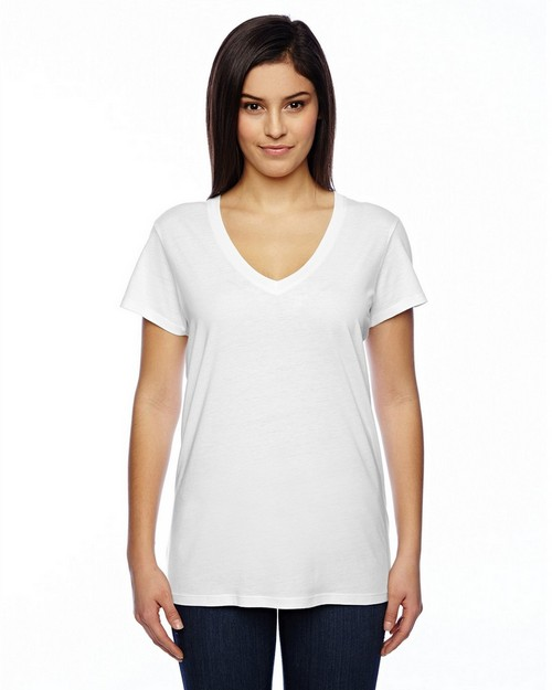 Alternative 02840MR Ladies Cotton/Modal Everyday V-Neck