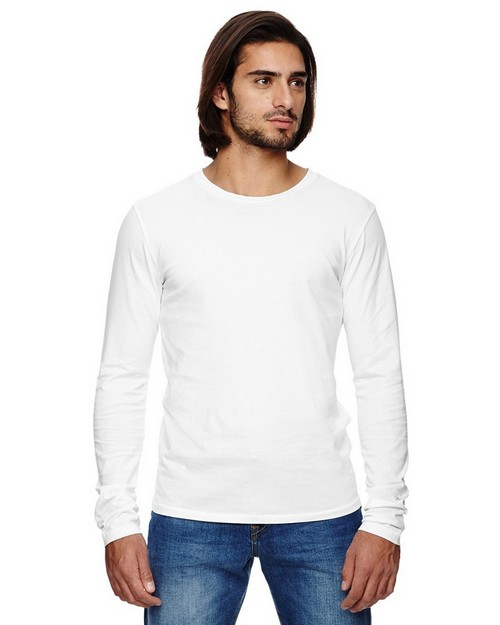 Alternative 04043C1 Mens Heritage Long Sleeve T-Shirt