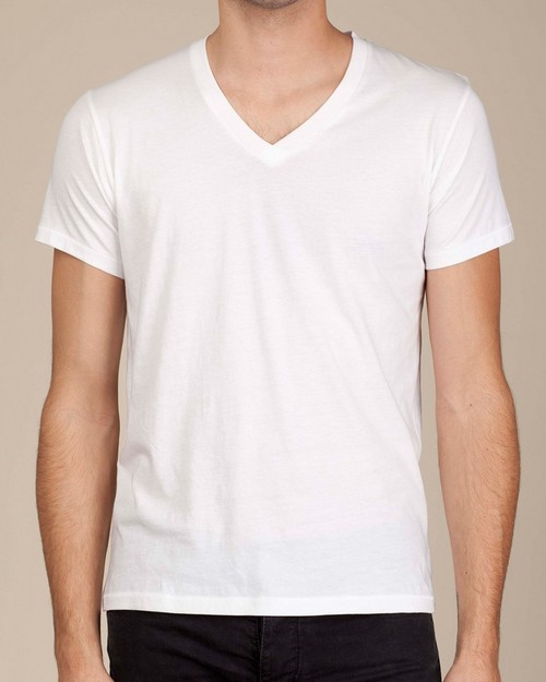Alternative 04532P1 Perfect V-Neck T-Shirt