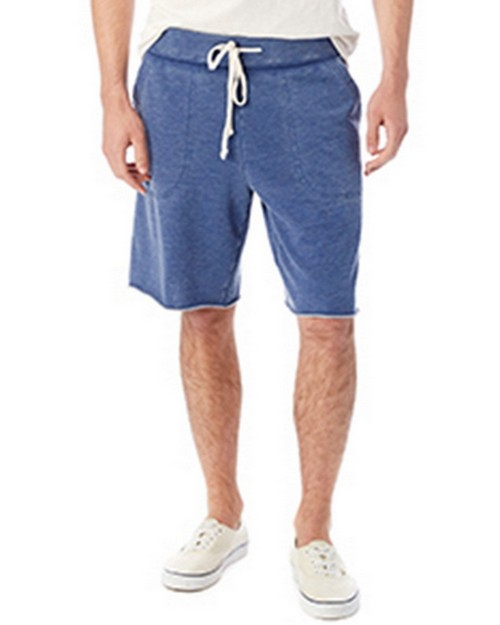 Alternative 05284F Mens Burnout French Terry Victory Short