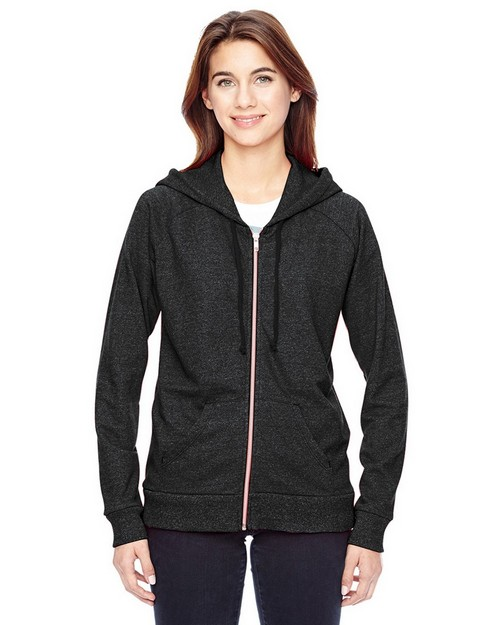 Alternative 09573EY Ladies Eco Mock Twist Adian Hoodie