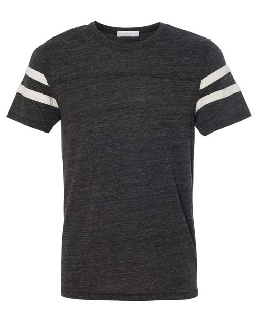 Alternative 12150 Mens Eco-Jersey Short Sleeve Football T-Shirt