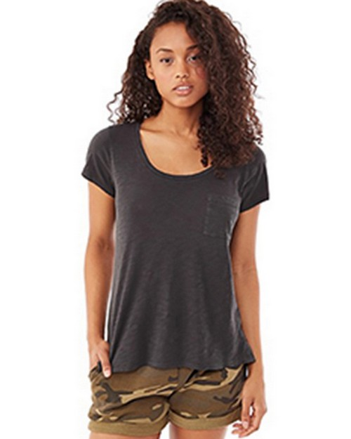 Alternative 12421J Ladies Washed Slub Favorite T-Shirt