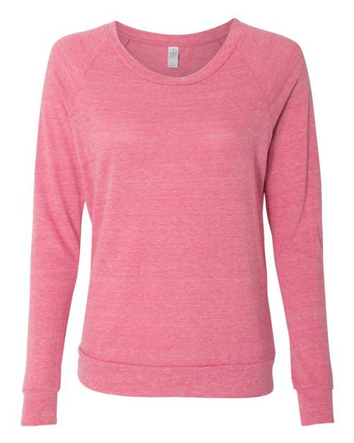 Alternative 1990e1 Womens Eco-Jersey Slouchy Pullover