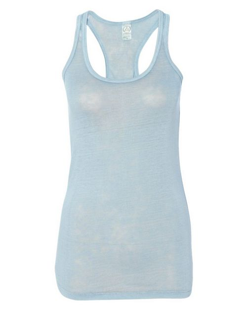 Alternative 2614 Womens Vintage Burnout Racerback Tank